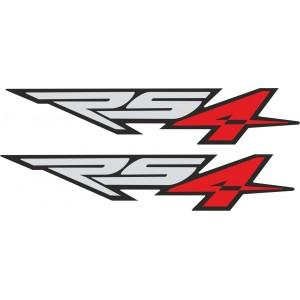2x Pegatinas Aprilia RS4