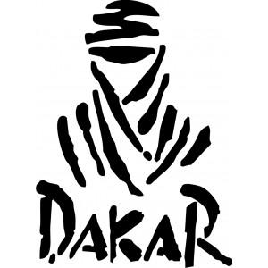 2x Pegatinas Dakar