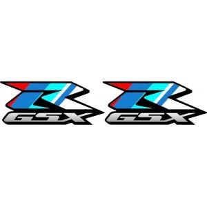 2x Pegatinas GSXR Aniversario