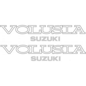2x Pegatinas Suzuki Volusia
