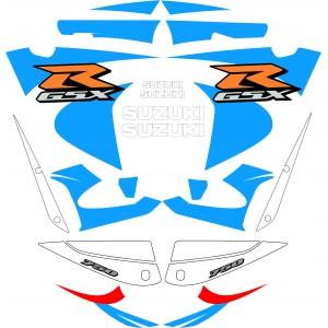 Pegatinas Suzuki GSXR750 2000-2002