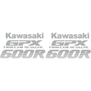 KIT Pegatinas Kawasaki GPX600R