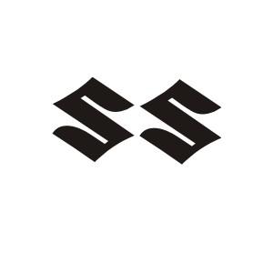 2x S Logo Suzuki Gel