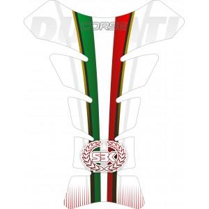 Protector deposito Ducati Italia White