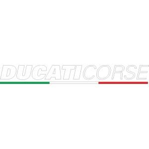 2x Pegatinas Ducati Corse