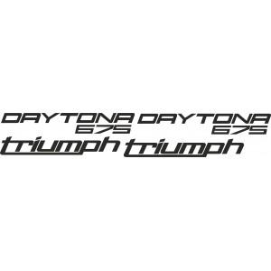 Pegatinas Daytona 675 2016