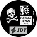 Pegatina Vehiculo Toxico