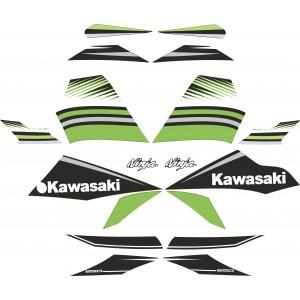 KIT Pegatinas Kawasaki Ninja 650 2017