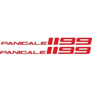 2x pegatinas 1199 panigale