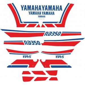 Pegatinas Yamaha RD 350 LC 89